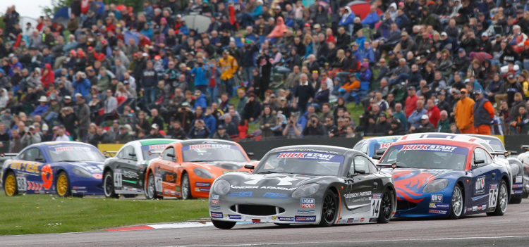 Floersch Stunned The Bumper Thruxton Crowd - Credit: Jakob Ebrey Photography