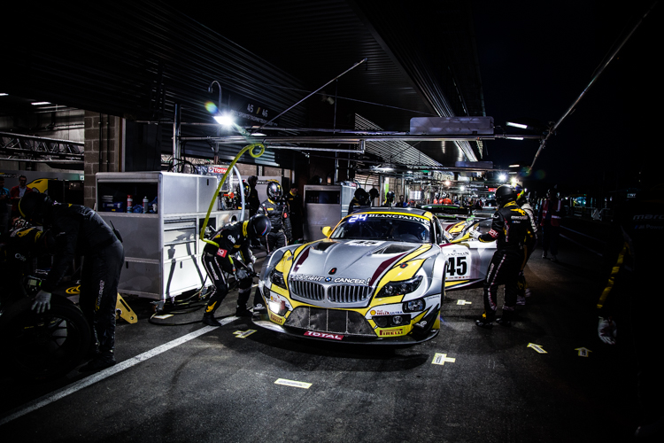 Maxime Martin's top time was set long before night fell on Spa-Francorchamps (Credit: Tom Loomes Photography)