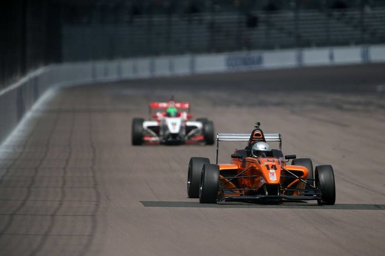 Lang has already picked up one podium this year at Rockingham