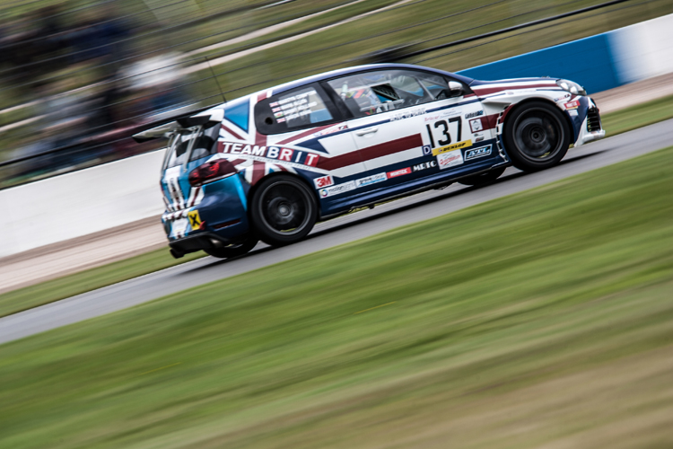 Team BRIT and Danny Holland had a great Britcar debut. (Credit: Nick Smith/TheImageTeam.com)