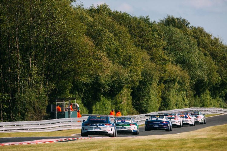 Pro-Am2 boys enjoyed Spa round (Credit: Malcolm Griffiths)