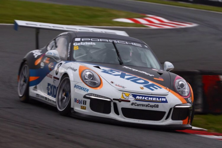 Gelzinis stars in Pro-Am1 (Credit: Malcolm Griffiths)