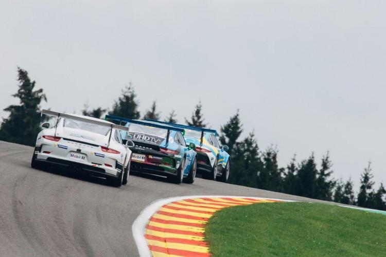 Battle now heads for Snetterton (Credit: Porsche GB)