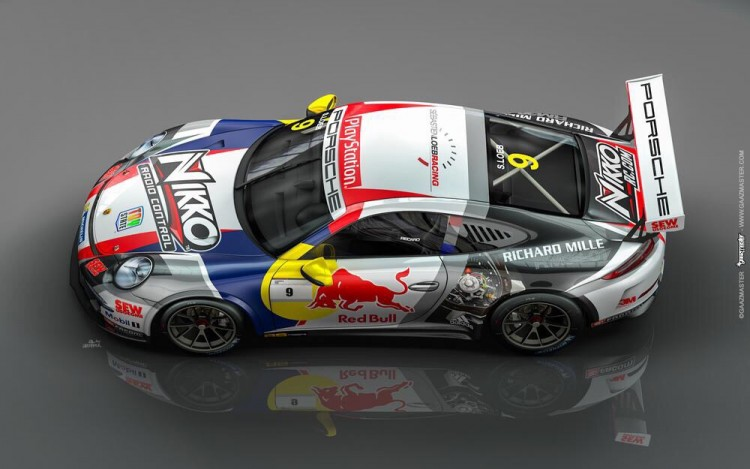 Loeb's livery for Spa (Credit: Porsche AG)