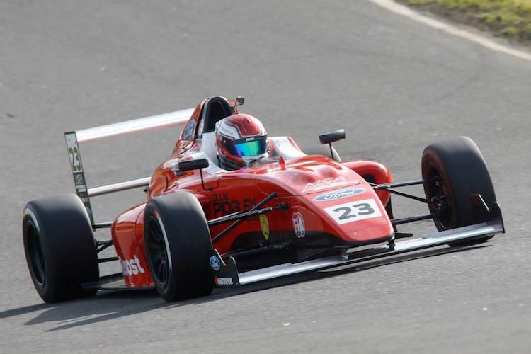 Ollie Pidgley 2015 MSA Formula Knockhill