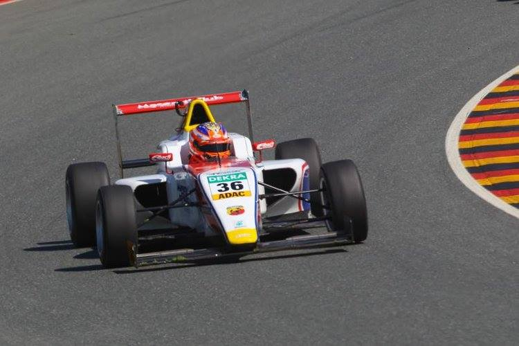 ADAC F4 2015 Sachsenring Joey Mawson