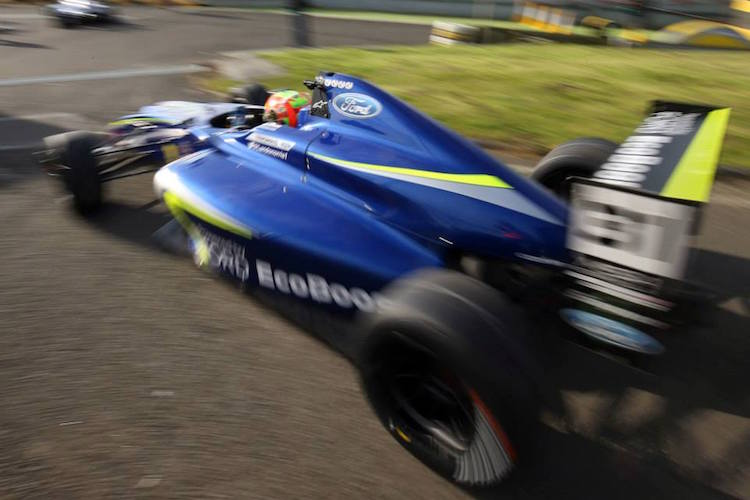 Lando Norris 2015 MSA Formula Knockhill