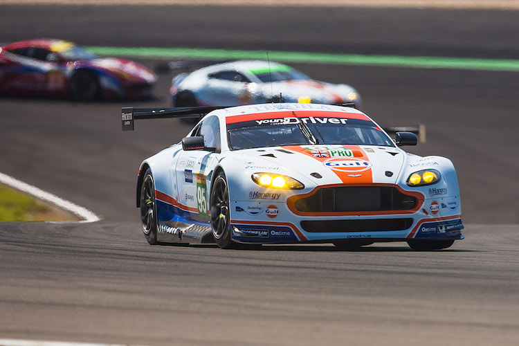 2015 WEC Nurburgring Aston Martin Nygaard Sorensen