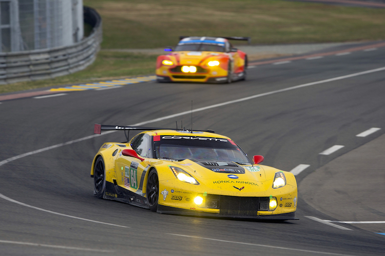 Taylor, along with Milner and Gavin, won LMGTE Pro at Le Mans this year (Credit: Richard Prince)