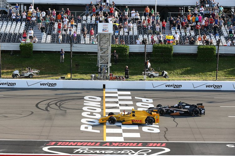 Ryan Hunter-Reay Pocono