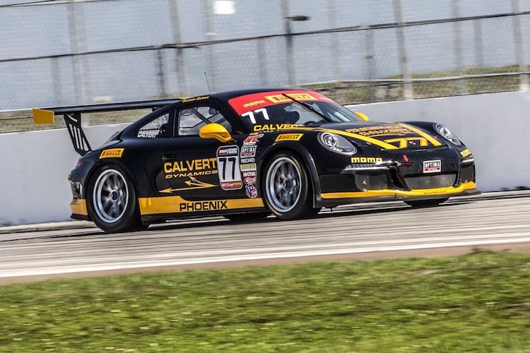 Phoenix American Motorsports Preston Calvert GT Cup 2015 Miller