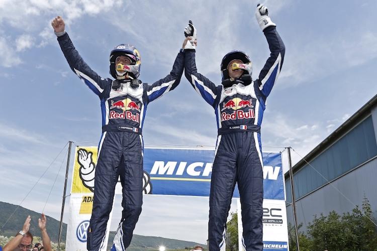 Ogier 2015 Rallye Deutschland Win VW