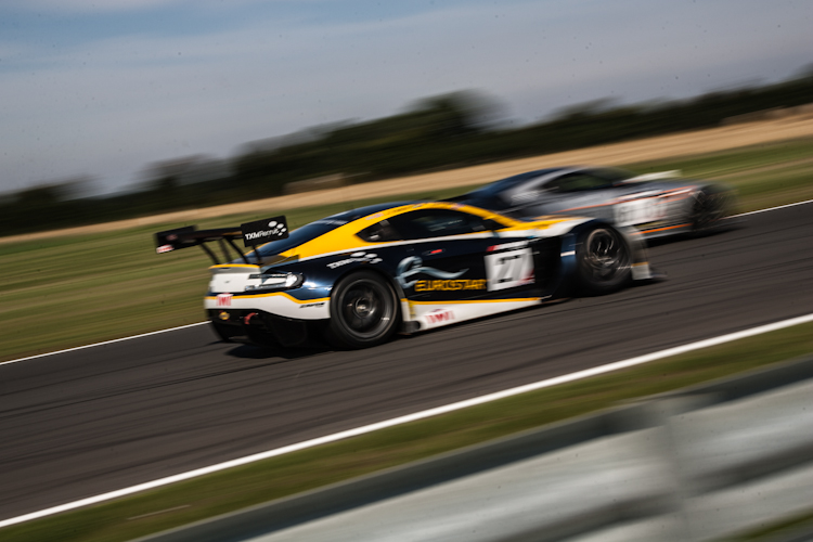 TF Sport carried on the good form they showed in practice by claiming GT3 Am pole (Credit: Nick Smith/TheImageTeam.com)