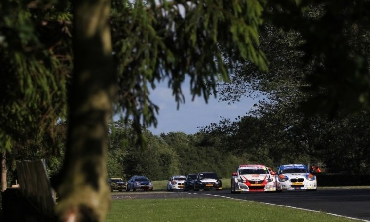 BTCC 2015 Croft field