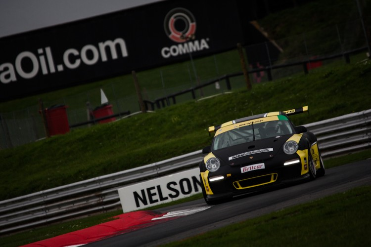 The Cunningham family Porsche finished second overall (Credit: Nick Smith/The Image Team)