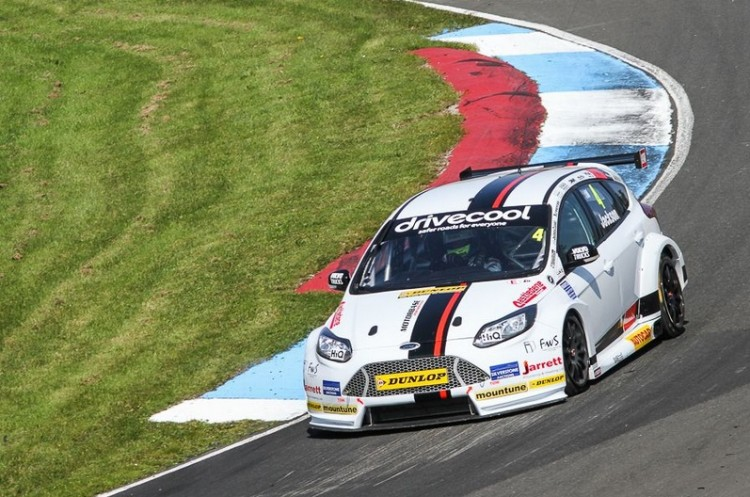 Craig Mat Jackson race 2 grid Knockhill