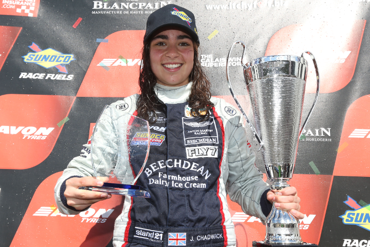Jamie Chadwick teams up with Paul Hollywood for British GT ...