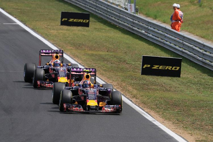 Kvyat Ricciardo