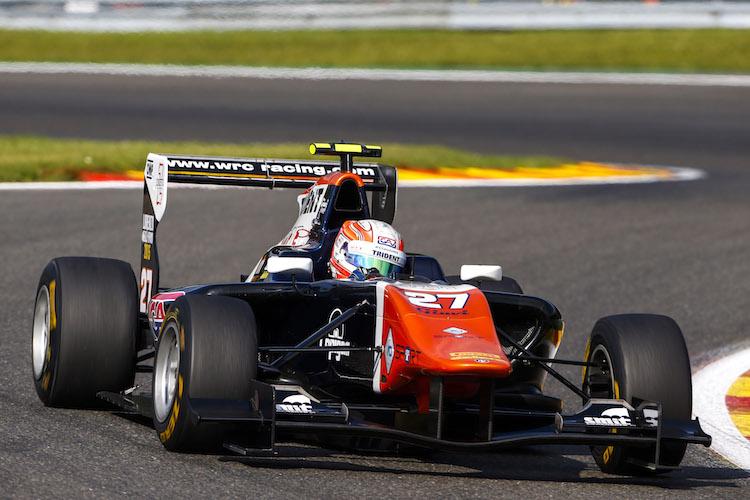 Luca Ghiotto Belgium GP3 2015