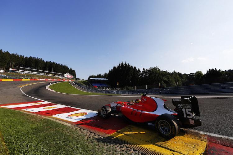 Emil Bernstorff 2015 Spa GP3
