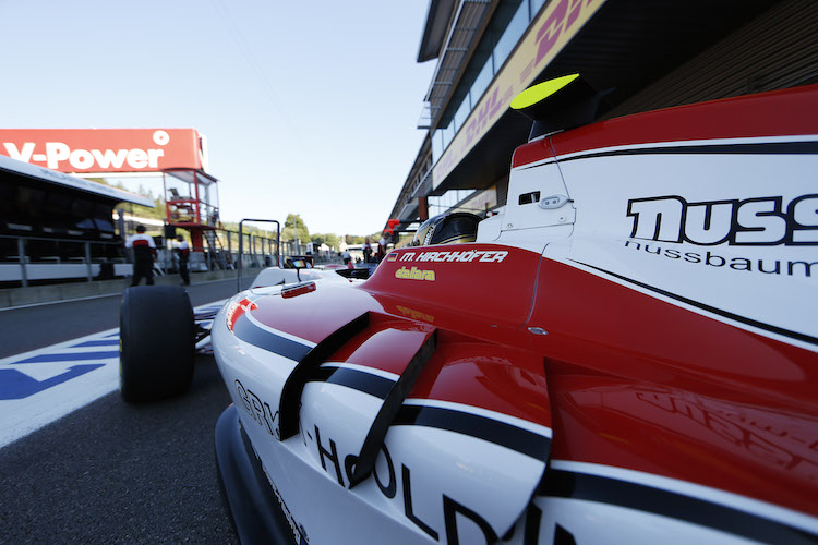 Marvin Kirchofer 2015 Spa GP3