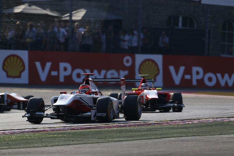 Esteban Ocon GP3 2015 Belgium