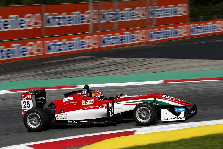 FIA Formula 3 European Championship, round 8, Red Bull Ring (AUT)