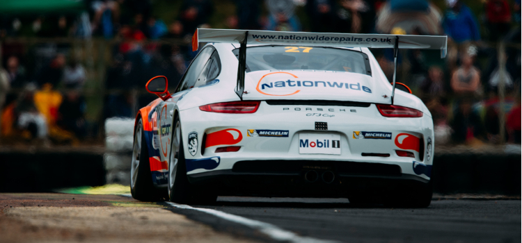 Cammish's Rivals Have Got Used To The View Of  His Porsche's Rear Bumper - Credit: Malcolm Griffiths