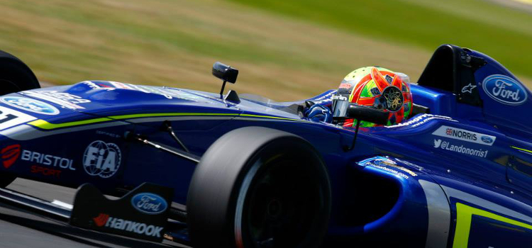 Lando Norris Has Impressed In His Maiden Single-Seater Campaign - Credit: Jakob Ebrey Photography