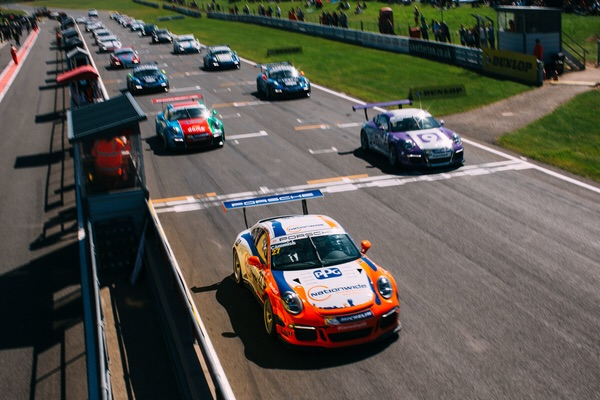 Cammish - Snetterton 2015 - Race One Start