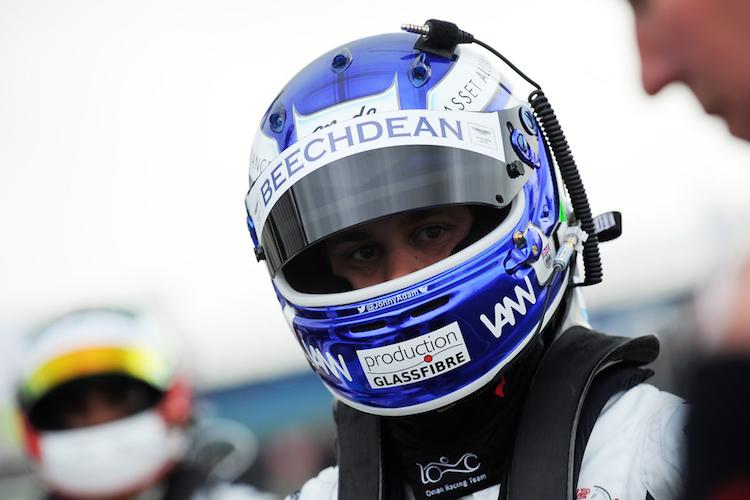 Jonny Adam 2015 British GT Beechdean