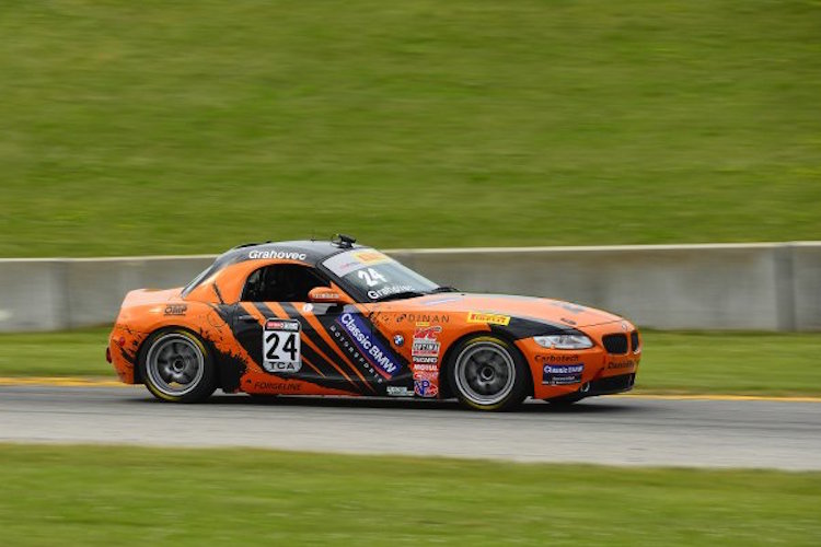 Toby Grahovec 2015 Pirelli World Challenge Road America