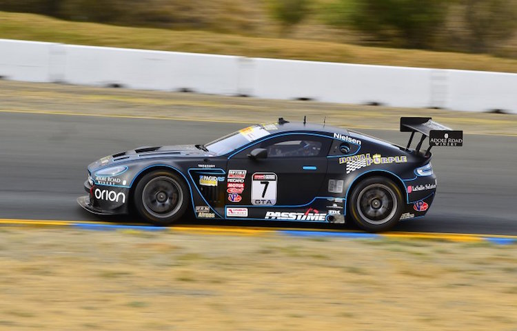 Christina Nielsen took a dominant win in the GTA category (Credit: Pirelli World Challenge)