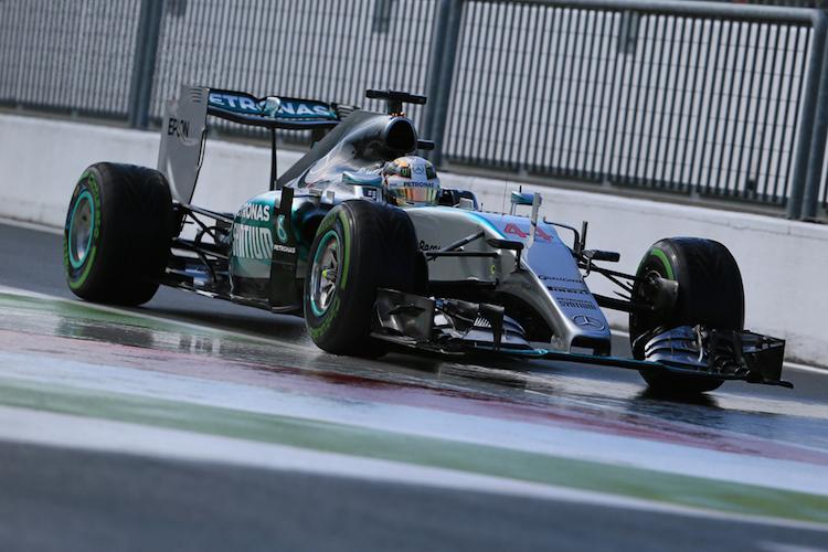 Hamilton 2015 F1 Monza