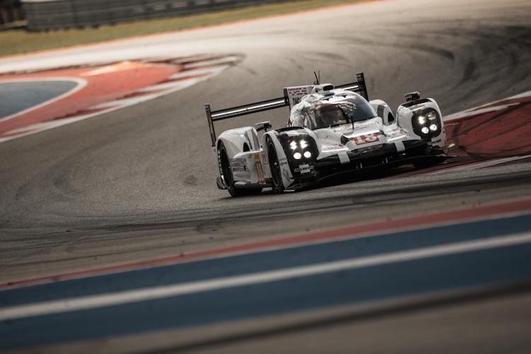 Porsche 18 2015 COTA WEC