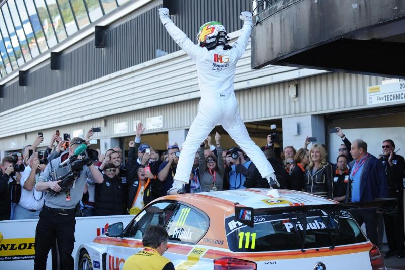 Andy Priaulx Silverstone win
