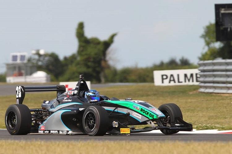 Albert moved to GTs following time in BRDC F4 (Credit: BRDC F4/Jakob Ebrey)