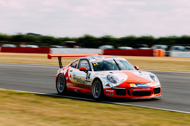 Pepe Massot in the Parr Motorsport Porsche - Photo credit:Malcolm Griffiths