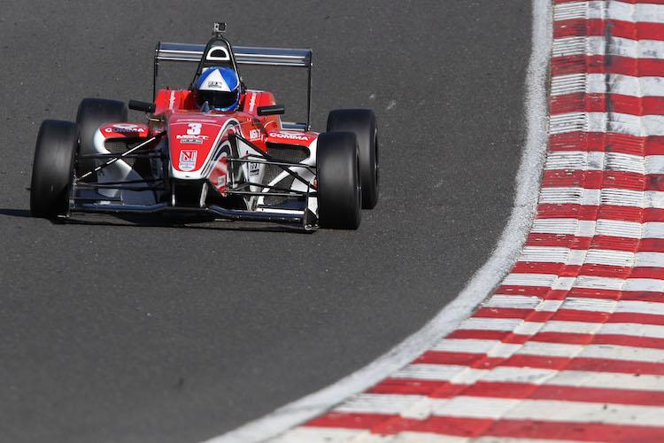 Will Palmer BRDC F4 Brands Hatch 2015