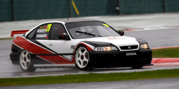 Rivett Will Compete In The Ex-Prodrive 1996 Honda Accord - Credit: supertcc.com