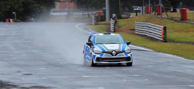 Watkins Has Got To Grips With His Clio At Oulton - Photo: Facebook/Sam Watkins Racing