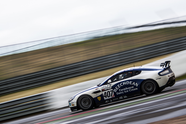 The 2015 GT4 title has already been claimed by the #407 Aston Martin crew but the Silver Cup is still up for grabs. (Credit: Nick Smith/TheImageTeam.com)