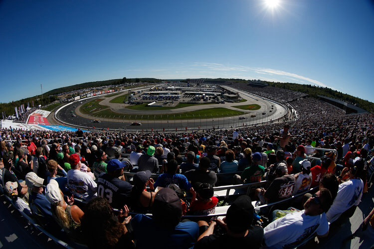 Large crowds piled into New Hampshire Motor Speedway for the second of the Chase rounds (Credit: Todd Warshaw/Getty Images/NASCAR)