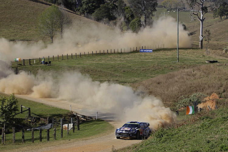 Latvala Rally Australia