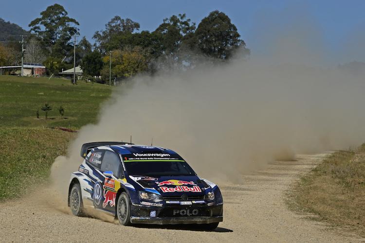 Rally Australia 2015 Ogier WRC