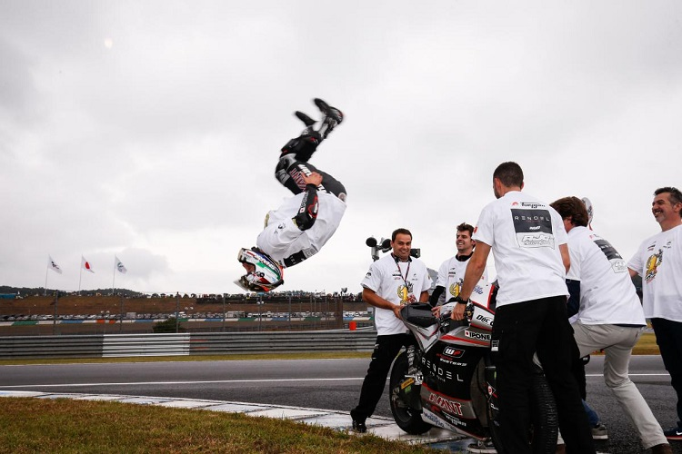 Johann Zarco - 2015 Moto2 World Champion (Photo Credit: MotoGP.com)