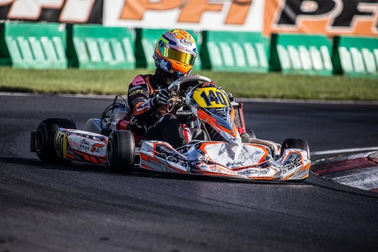 Successful karter now heads for car racing. (Credit: Hannah Pym Racing)