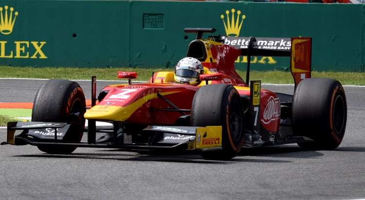 Jordan King ( Racing Engineering) ,GP2 Series, Rd2,Italian Grand Prix, Monza