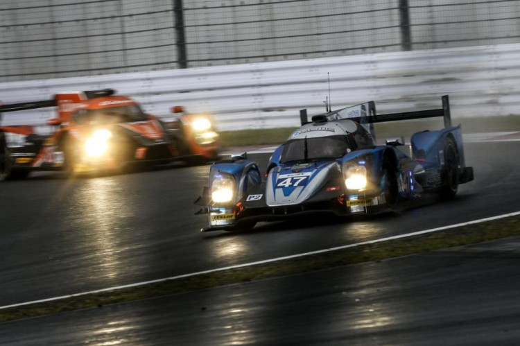 KCMG lose their LMP2 championship lead to G-Drive (Credit: Nick Dungan/AdrenalMedia.com/FIA WEC)