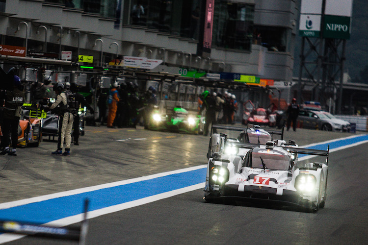 Car #17 / PORSCHE TEAM (DEU) / Porsche 919 Hybrid Hybrid  / Timo Bernhard (DEU) / Mark Webber (AUS) / Brendon Hartley (NZL)6 Hours of Fuji at Fuji International Speedway - Shizuoka - Japan